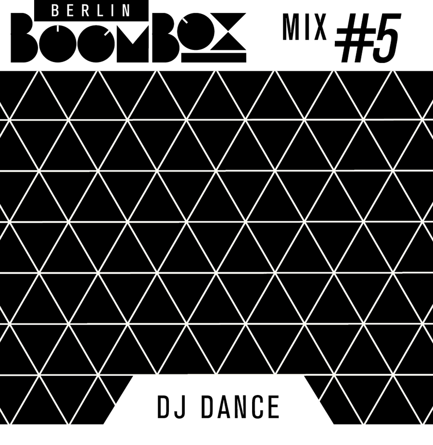 Cover of Berlin Boombox Mixtape #5, designed by Axel Pfaender