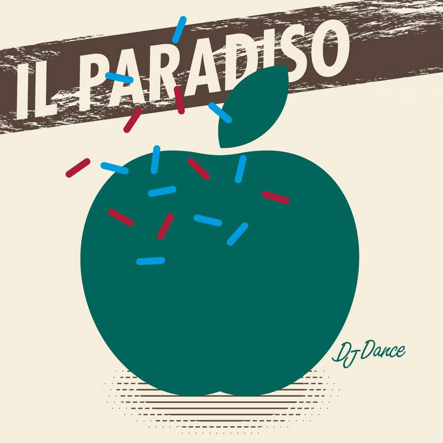 """Cover Grafik zu """"Il Paradiso"""" entworfen von Axel Pfaender"""