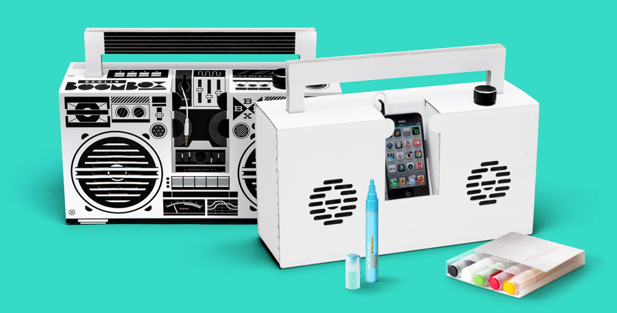 Design your own Boombox