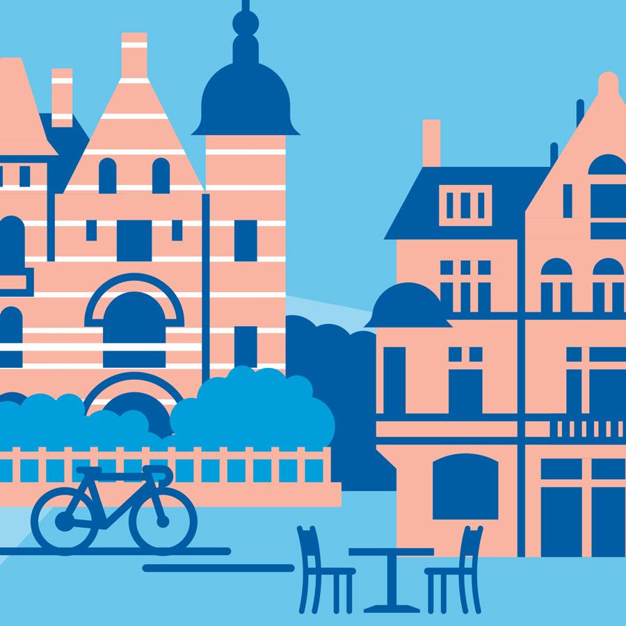Stadtplan Antwerpen
