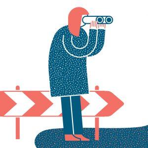 Focus Magazine business advice Illustration