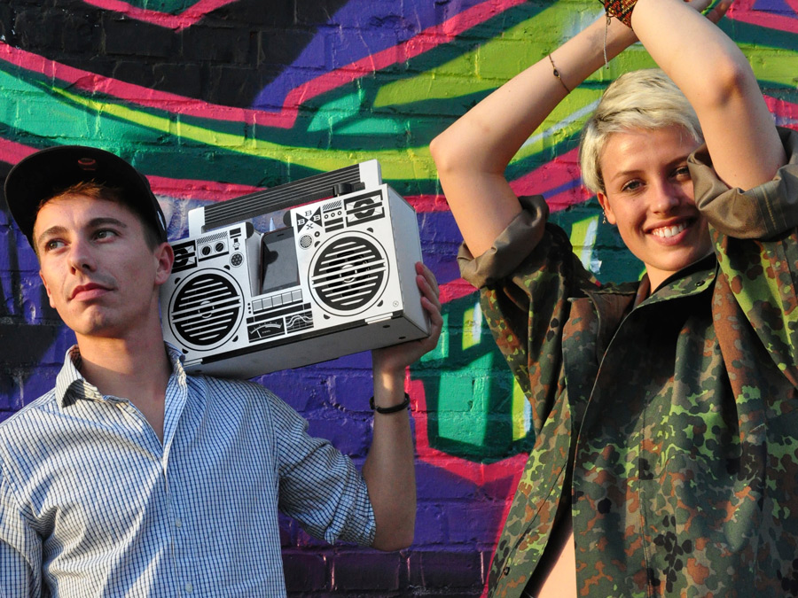 Stand Out from the Crowd with your Berlin Boombox