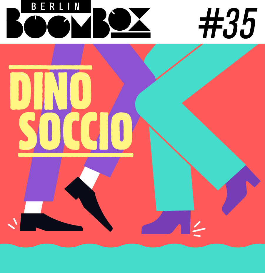 Cover Art for Berlin Boombox Mixtape by Dino Soccio